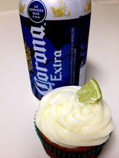 Beer Cupcakes ... Corona and Blue Moon Sweetness
