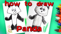 How to draw a panda from Masha and the Bear
