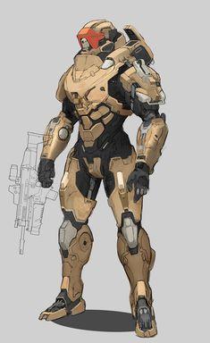 Robot Concept Art, Armor Concept, Story Inspiration, Character Design Inspiration, Character Concept, Character Art, Combat Armor, Armor Clothing, Futuristic Armour