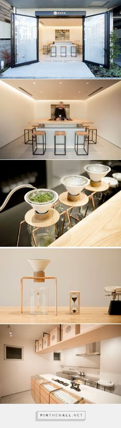 A Minimalist Tea Shop Serving Hand Dripped Green Tea Has Opened In Tokyo | CONTEMPORIST - created via https://pinthemall.net