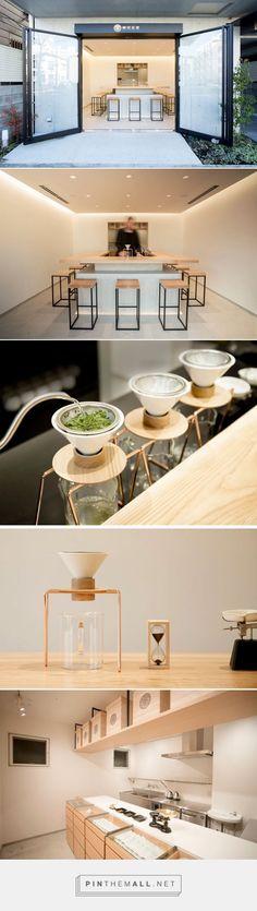 A Minimalist Tea Shop Serving Hand Dripped Green Tea Has Opened In Tokyo | CONTEMPORIST - created via https://pinthemall.net