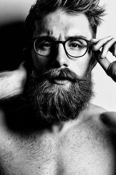 bespectacled beard
