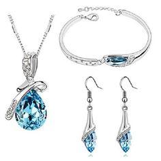 Vintage/Niedlich/Party/Business/Informell - Damen Silber/Crystal