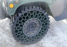 Airless tires for the Jeep