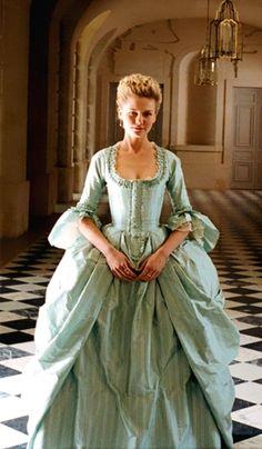 Kirsten Dunst in costume - 'Marie Antoinette'.