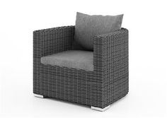 venezia kreslo z umeleho ratanu seda Outdoor Chairs, Outdoor Furniture, Outdoor Decor, Armchair, Home Decor, Sofa Chair, Single Sofa, Decoration Home, Room Decor