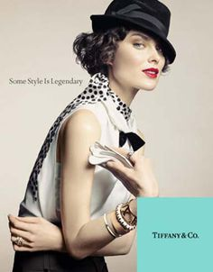 Fascination : Tiffany & Co/FW0809-Ad Campaign
