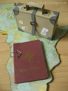 Geldgeschenk für eine Reise - Kirstens Stempelkiste