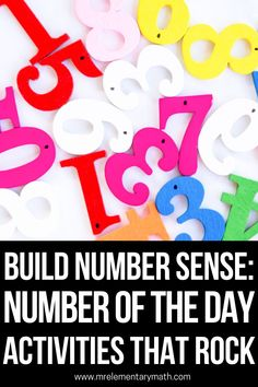 Interactive Number of the Day activities for building number sense. Great for math warm ups! Expanded Notation, Number Sense Activities, Base Ten Blocks, Classroom Routines, Math Manipulatives, Word Pictures, Elementary Teacher, Teaching Tips, Numbers