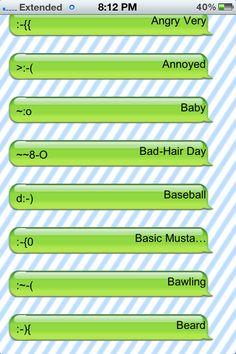 31 best texting smileys