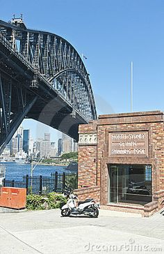 Harbour Bridge And Pool Entrance - Download From Over 25 Million High Quality Stock Photos, Images, Vectors. Sign up for FREE today. Image: 23962530
