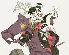 Joker and Harley Quinn, one of my favorite illustrations