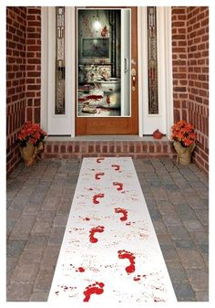 Blood Footprints on your Doorstep