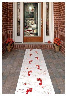 Blood Footprints on your Doorstep