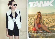 Cutler and Gross 0734 in classic black in TANK magazine