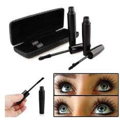 3D Natural Fiber Lashes and Transplanting Gel Make your eyes pop with this cutting edge lash system.Product Information Go for up to 3x with 3D Fiber Lashes that are water-resistant, yet wash off easily. This is quite possibly the most mood-altering, life-changing product in the cosmetics world!  The perfect combination of transplanting gel and natural fiber can instantly lengthen your eyelash by 300%. Makeup Mascara