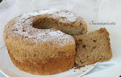 Chiffon cake Ricetta al caffè e gocce di cioccolato