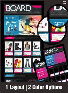 eNewsletter Design for eCommerce - Adrenaline Rush