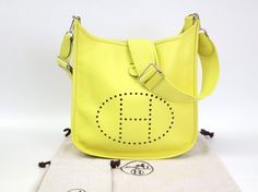 Hermes Evelyne Pm 3 Veau Epson Shoulder Bag. Get one of the hottest styles of the season! The Hermes Evelyne Pm 3 Veau Epson Shoulder Bag is a top 10 member favorite on Tradesy. Save on yours before they're sold out!