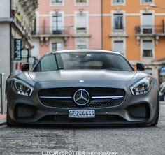 """Mercedes AMG GTS! Follow @unique_auto_films """"Clear Bra Paint Protection"""" Vehicle Color Changes http://ift.tt/1V05ec9 ________________________________ Photo by @luxuryspotter by carlifestyle"""
