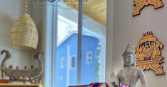 Whimsically Ethnic (Home Tour of Poornima Murthy) Part Seattle Homes, Reasons To Smile, New Beginnings, Vignettes, House Tours, Vibrant Colors, Beautiful Homes, Living Room Decor, Ethnic