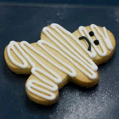 Mummy Cookies ? (A much simpler version!)