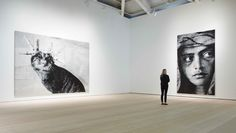 The Saatchi Gallery... only the best Museum in the world. My favorite place.
