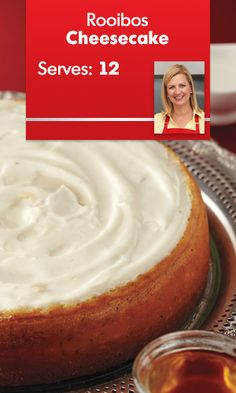 Tailor your to your taste by adding your favourite tea for extra texture. Mint Cheesecake, Cheesecake Recipes, Anna Olson, Herbal Teas, Winter Food, Cheese Recipes, Christmas Holiday, Allrecipes