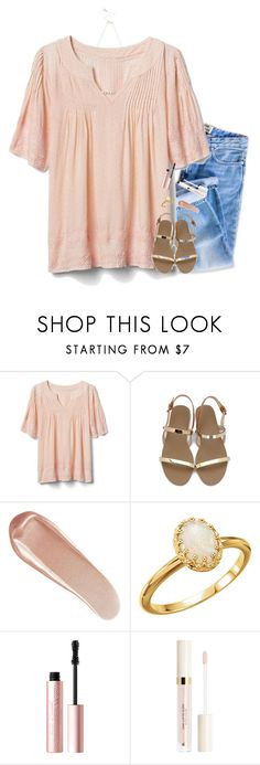 """""""❥friends can break your heart too..."""" by pineapple5415 ❤ liked on Polyvore featuring Gap, Lipsy, NARS Cosmetics and Too Faced Cosmetics"""