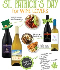 St. Patrick's Day pairings