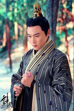 Lu Yi in 2015 Chinese TV series 'Yun Zhong Ge' (aka...Song of the Clouds).
