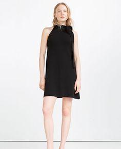 Image 1 of HALTER-NECK DRESS from Zara