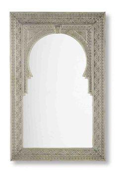 moroccan medina mirror
