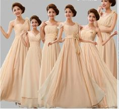 Hey, I found this really awesome Etsy listing at https://www.etsy.com/listing/170976004/champagne-evening-dress-bridesmaid