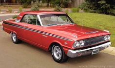 1963 Ford Fairlane **I really like this year. it still has fins**