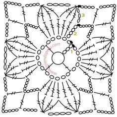 cortinas a crochet patrones - Buscar con Google