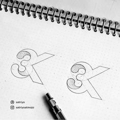 Follow us @logoinspirations 3K by @satriyoatmojo - LOGO COURSE logocore.com/lessons - NEGATIVE SPACE LOGOS @negativespacelogos @negativespacelogos