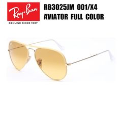a68aaf7b741 Ray-Ban AVIATOR Full Color RB3025-J-M 001 X4 55-14 2N