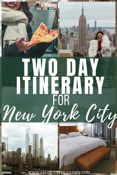 Only have two days in New York City and want to see it all? Here's an activity packed New York itinerary, which includes local foodie spots I love! New York Travel Guide, Usa Travel Guide, Travel Usa, Travel Tips, Travel Guides, Travel Destinations, New York City Vacation, New York City Travel, Rockefeller Center