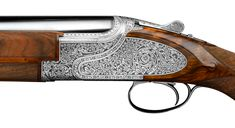 Sides For Ribs, Shotguns, Browning, Hand Engraving, Leather Tooling, Leather Case, Hand Guns, Empire, British