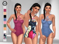 ~Teen to Elder sims  Found in TSR Category 'Sims 4 Female Swimwear'