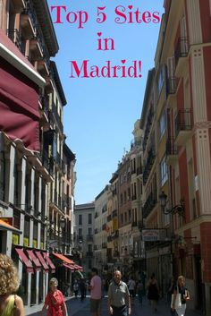 Travel to Madrid Spain and Visit these amazing sites! Parks, Museums, Restaurants & more!