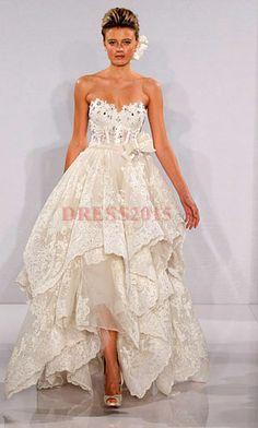 high low wedding dress This is my dream dress!!!!!!!!!!!!!! Panina Tornai