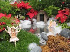 Christmas Fairy Gardens: A Foil for the Flowers