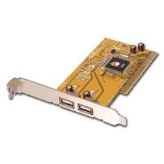 SIIG Dual-Port USB 2.0 PCI Adapter. 2PORT USB 2.0 ADAPTER PCI 3.3/5V 480MBPS ROHS USBCON. 2 x 4-pin USB 2.0 USB External - Plug-in Card by SIIG INC. $26.89. Standard Warranty: Lifetime Manufacturer/Supplier: SIIG, Inc Manufacturer Part Number: JU-P20212-S2 Brand Name: SIIG Product Name: Dual-Port USB 2.0 PCI Adapter Marketing Information: Adds 2 high-speed (480Mbps) USB 2.0 ports into your system with full backward support for USB 1.1 devices , Supports simultaneous op...