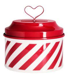 H&M hearty tin