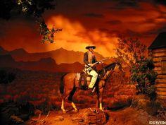 John Wayne scene, Great Movie Ride, Disney MGM Studios