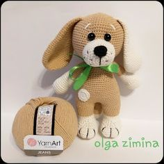 Samyelinin Örgüleri: KÖPEK YAVRUSU (Ücretsiz Tarif) Crochet Baby Jacket, Crochet Baby Toys, Crochet Teddy, Cute Crochet, Crochet For Kids, Crochet Dolls, Amigurumi Doll Pattern, Plush Pattern, Free Pattern
