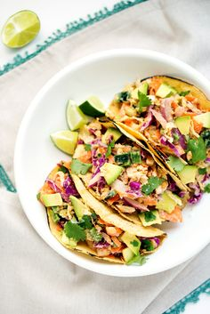 Crunchy Chickpea Tacos from Kim Campbell's The PlantPure Nation Cookbook   A Cookbook Giveaway