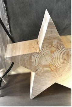 reclaimed wooden star